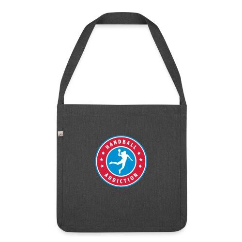 handball addiction femme - Sac bandoulière 100 % recyclé