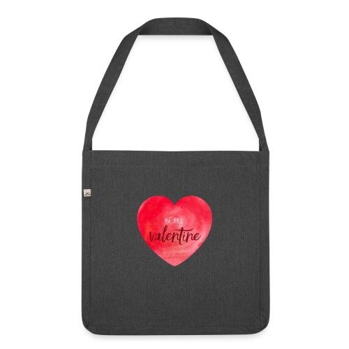 Cœur st.valentin - Sac bandoulière 100 % recyclé