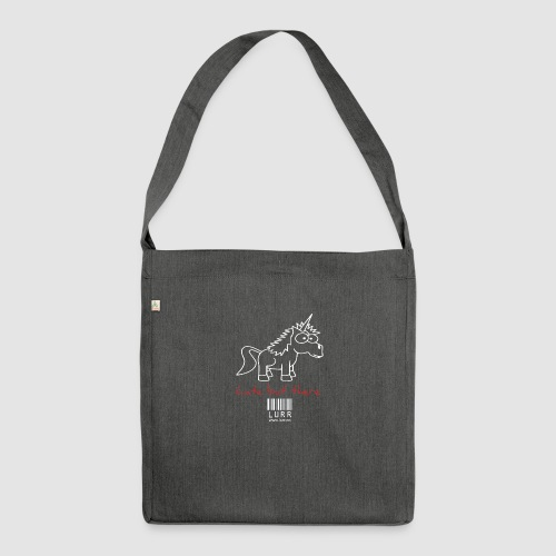 lurr unicorn - Shoulder Bag made from recycled material