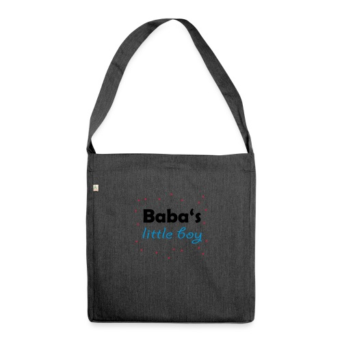 Baba's litte boy Babybody - Schultertasche aus Recycling-Material