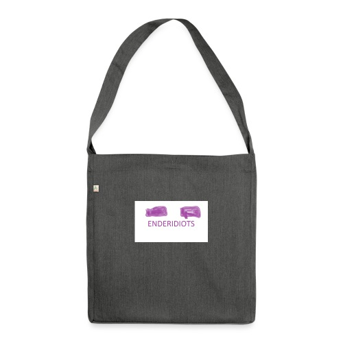 enderproductions enderidiots design - Shoulder Bag made from recycled material