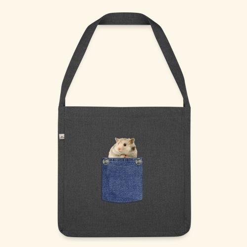 hamster in the poket - Borsa in materiale riciclato