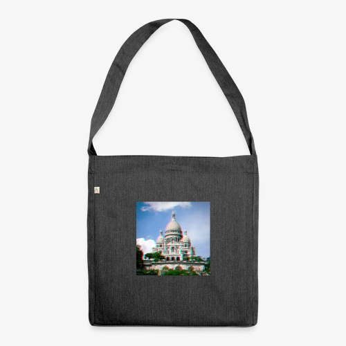 SacreCoeur Anaglyph - Schultertasche aus Recycling-Material
