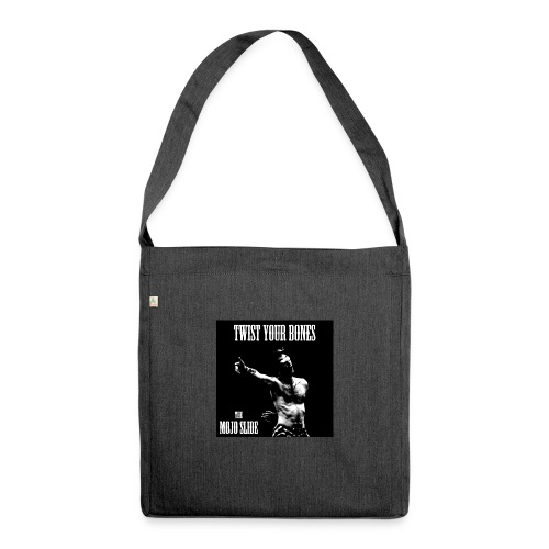 Twist Your Bones - Design 1 - Shoulder Bag made from recycled material