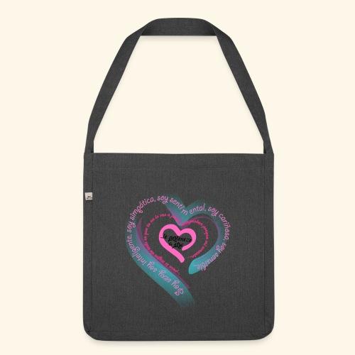Corazón Ajeno - Bandolera de material reciclado