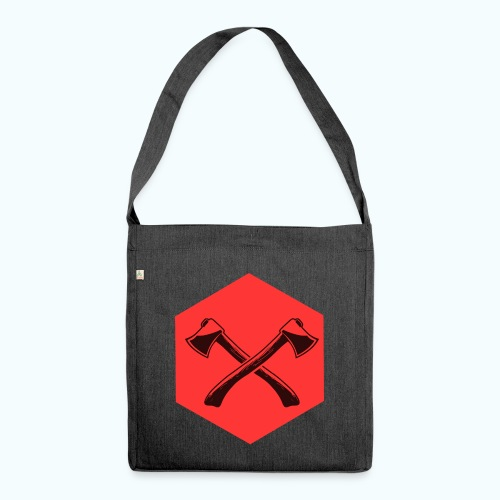 Hipster ax - Shoulder Bag made from recycled material