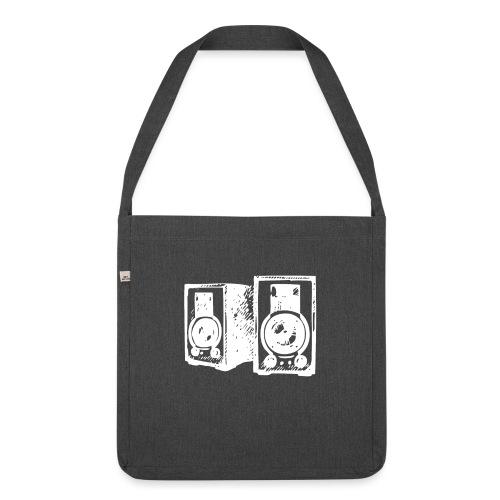 DJ Symbol Musik Musiker Party Disco - Schultertasche aus Recycling-Material