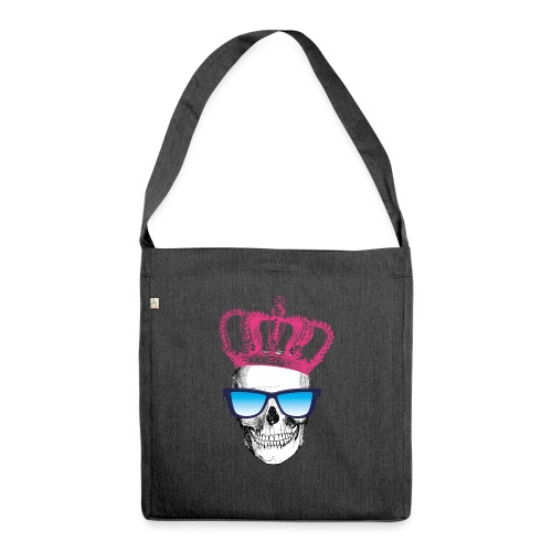 COOL SKULL - Schultertasche aus Recycling-Material