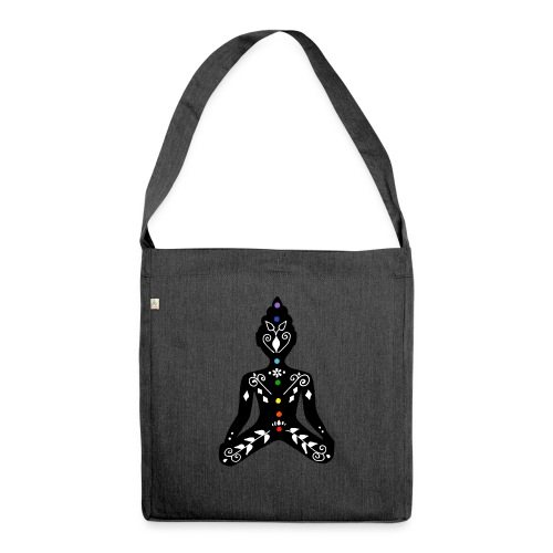 Meditation - Shoulder Bag made from recycled material