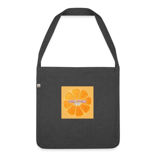 orangetextur - Schultertasche aus Recycling-Material