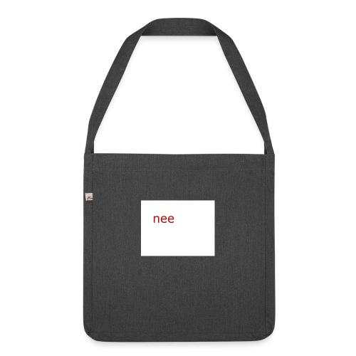 nee t-shirts - Schoudertas van gerecycled materiaal