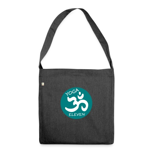 Yoga 11 Logo 2C - Schultertasche aus Recycling-Material