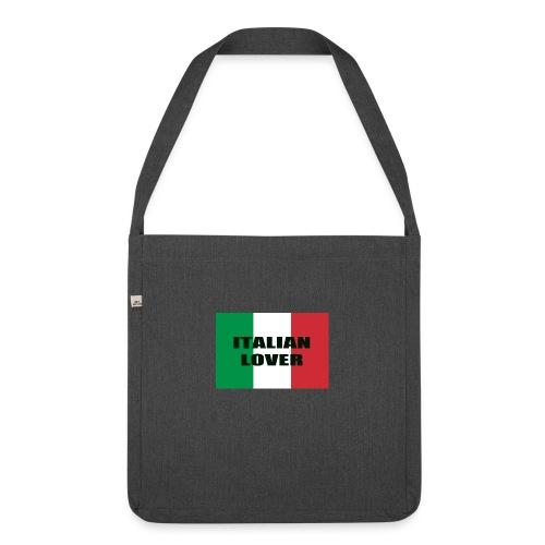 ITALIAN LOVER - Borsa in materiale riciclato