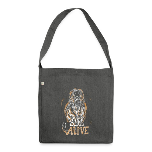 Still alive - Shoulder Bag made from recycled material