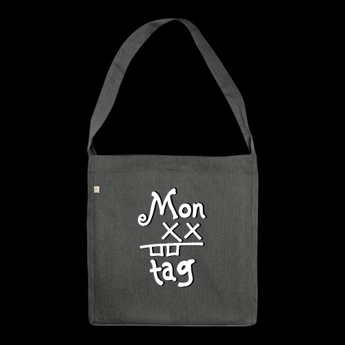Montag x_x - Schultertasche aus Recycling-Material