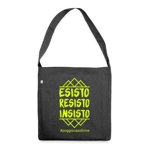 patch resisto - Borsa in materiale riciclato