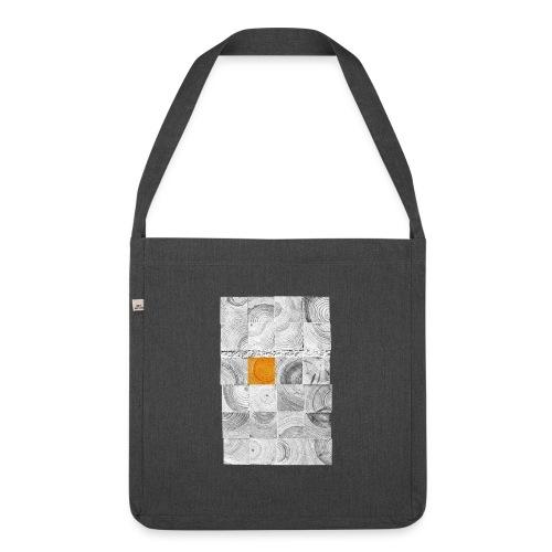 Cubes de Bois - Sac bandoulière 100 % recyclé
