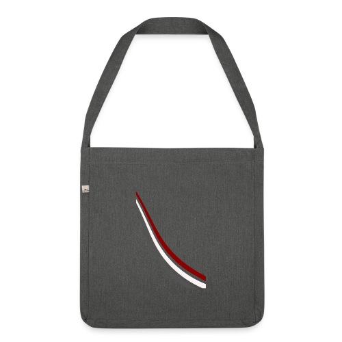 stripes shirt png - Schoudertas van gerecycled materiaal