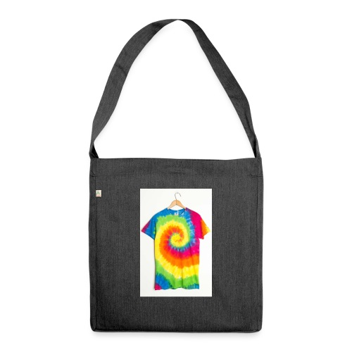 tie die small merch - Shoulder Bag made from recycled material