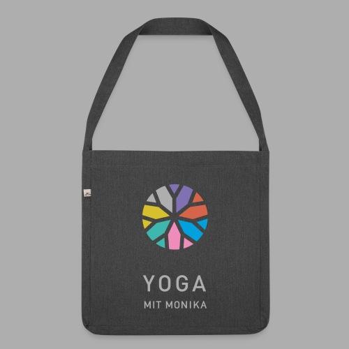 Yoga mit Monika - Schultertasche aus Recycling-Material
