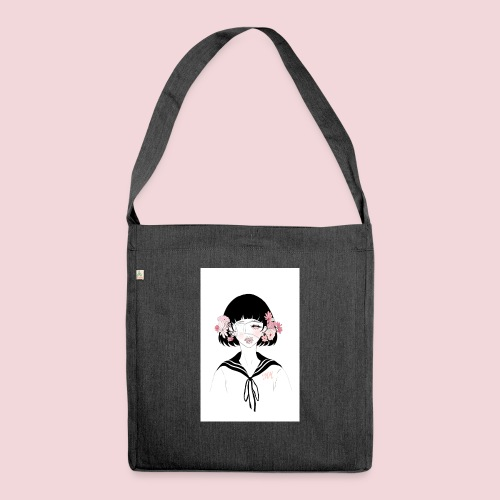 Flowerhead - Shoulder Bag made from recycled material