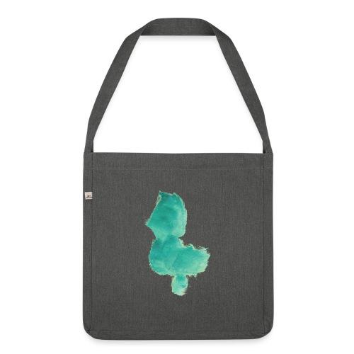 grünes Küken - Schultertasche aus Recycling-Material