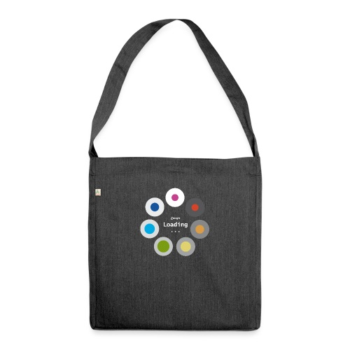 Energie Loading... - Schultertasche aus Recycling-Material