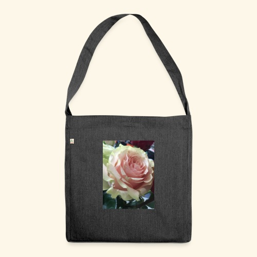Roses - Schultertasche aus Recycling-Material