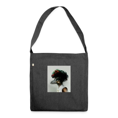 pini punk - Schultertasche aus Recycling-Material