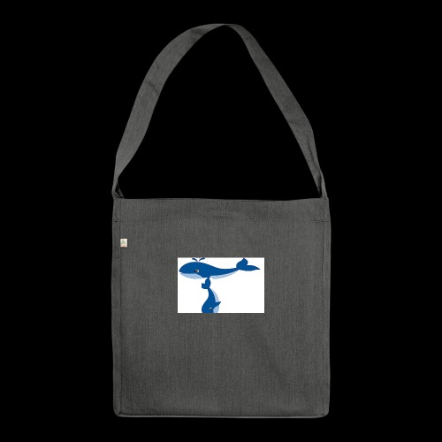 whale t - Shoulder Bag made from recycled material