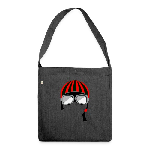 red_helmet-png - Borsa in materiale riciclato