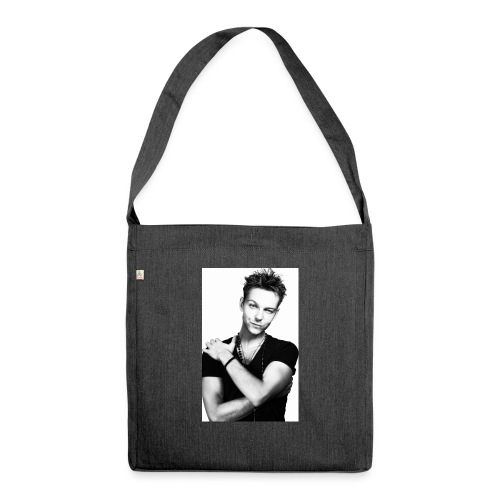handsome guy - Shoulder Bag made from recycled material