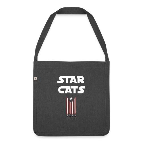 Star Cats - Bandolera de material reciclado