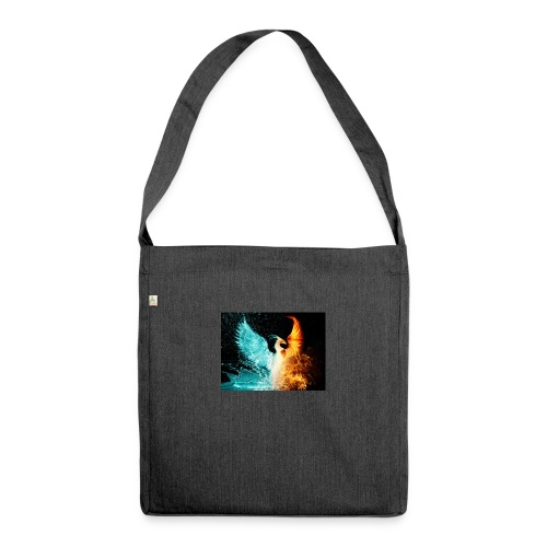 Elemental phoenix - Shoulder Bag made from recycled material
