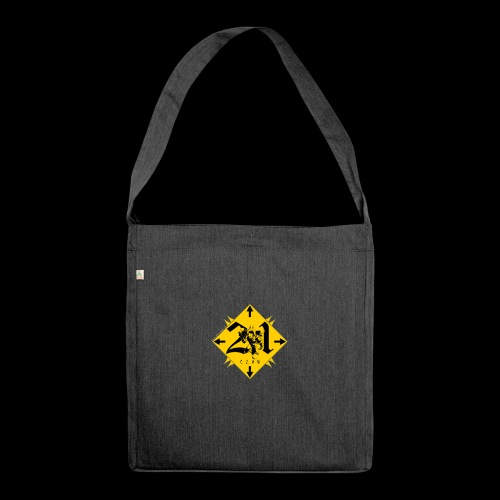 21-Clan - Schultertasche aus Recycling-Material