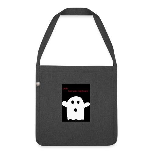 Cute Ghost - Olkalaukku kierrätysmateriaalista