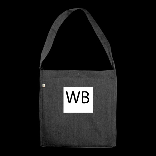 WB Logo - Schultertasche aus Recycling-Material