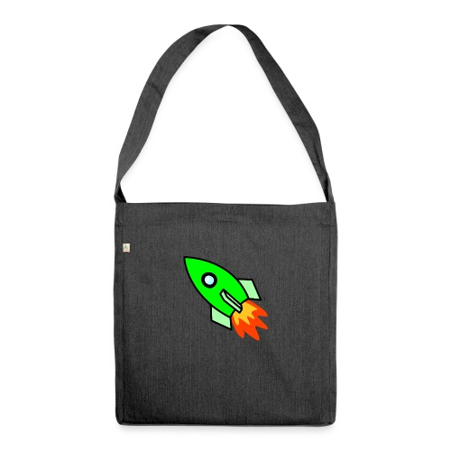 neon green - Shoulder Bag made from recycled material