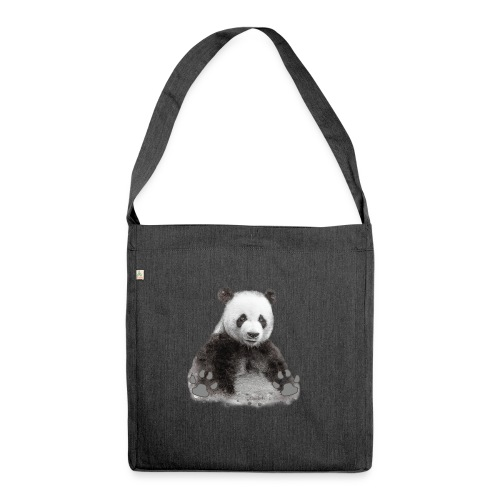 Panda - Sac bandoulière 100 % recyclé