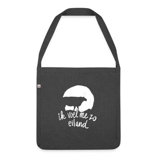 Eiland shirt - Schoudertas van gerecycled materiaal