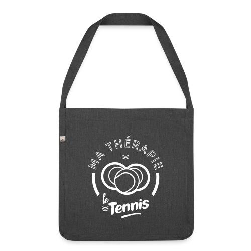 Ma therapie le tennis - Sac bandoulière 100 % recyclé