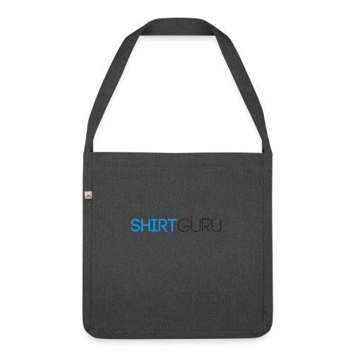 SHIRTGURU - Schultertasche aus Recycling-Material