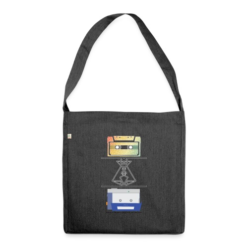 Nostalgia - Shoulder Bag made from recycled material