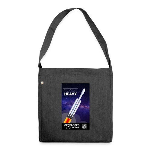 Falcon Heavy - Schultertasche aus Recycling-Material