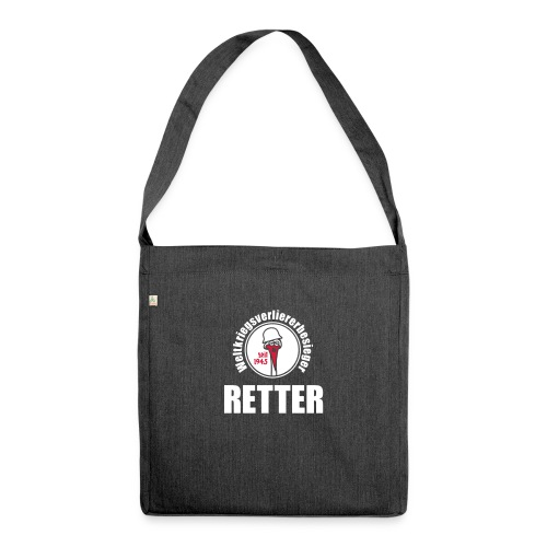 variante 2 - Schultertasche aus Recycling-Material