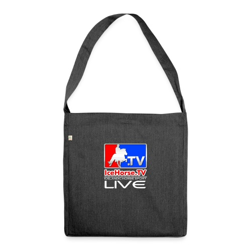 IceHorse logo - Shoulder Bag made from recycled material