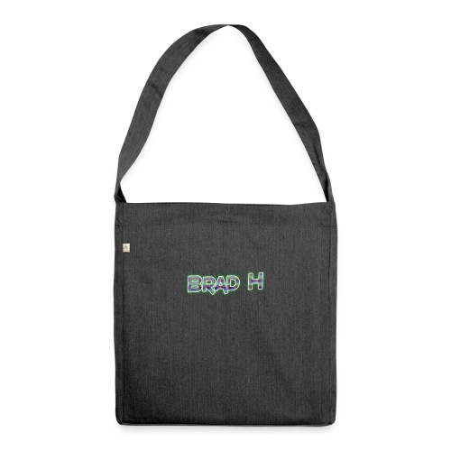 Official Brad H Logo - Shoulder Bag made from recycled material