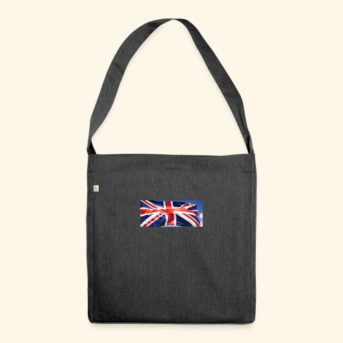 UK flag - Shoulder Bag made from recycled material