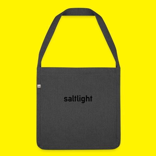 Saltlight // Black - Black - Shoulder Bag made from recycled material