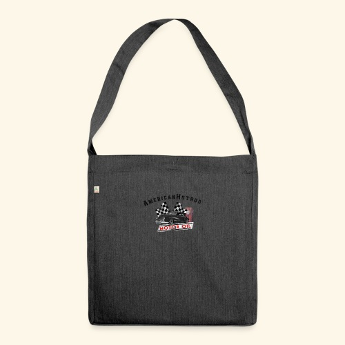 American Hotrod - Schultertasche aus Recycling-Material